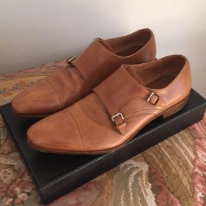 Men's Prada buckle dress shoes